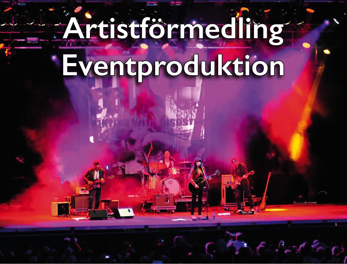 Håkan Waxegård Artistförmedling Eventproduktion