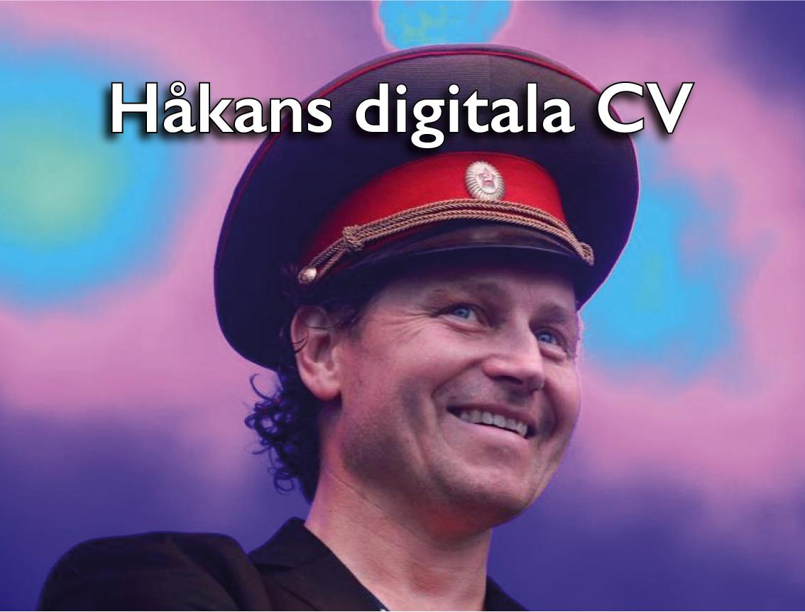 Håkan Waxegård CV